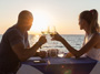 Candlelight Dinner on the Beach � Lobster Menu