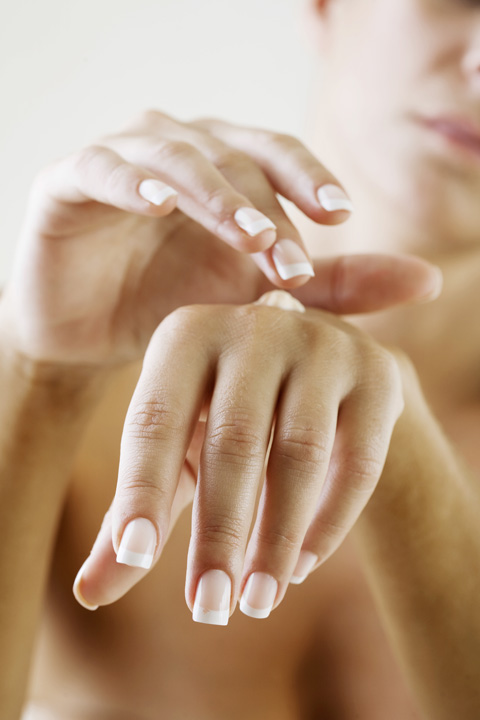 Spa Manicure with Hydrating Mask